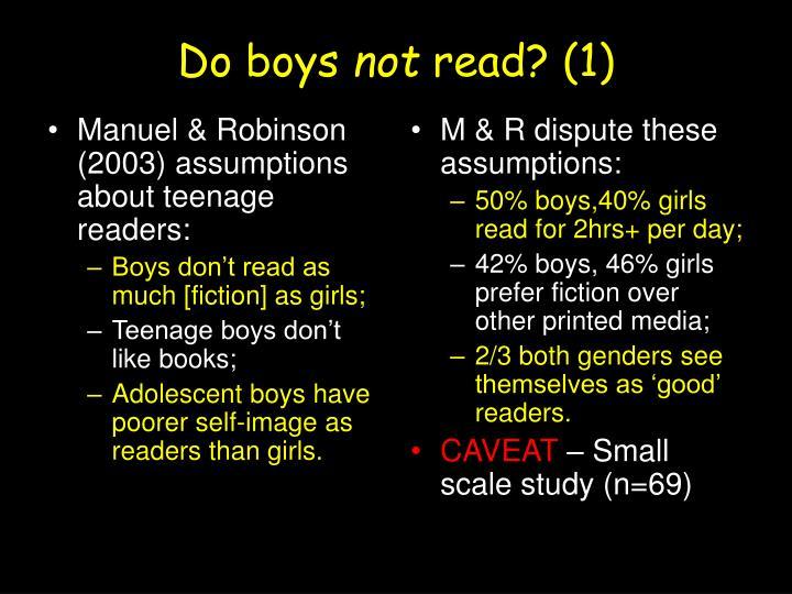 Do boys