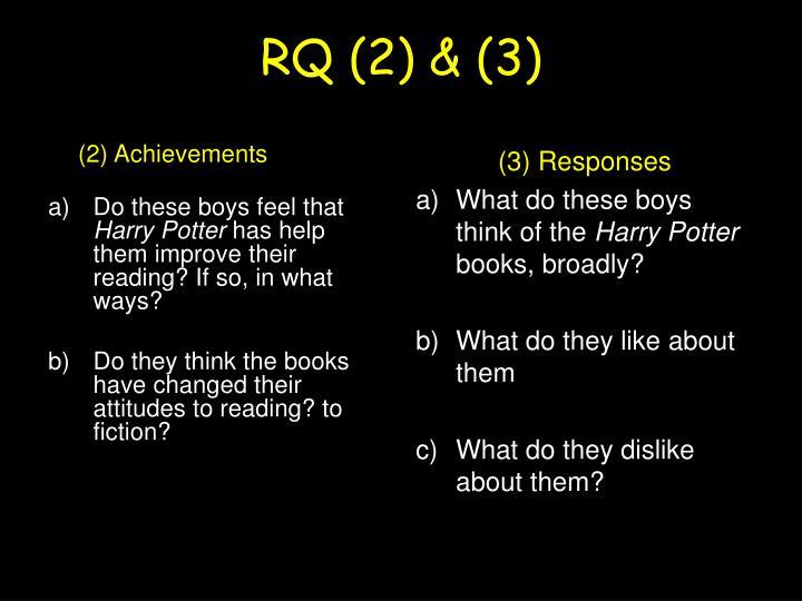 RQ (2) & (3)