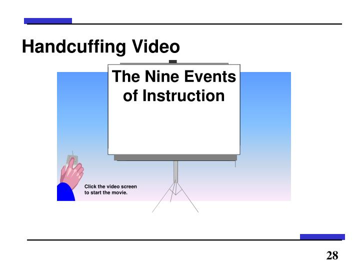 Handcuffing Video