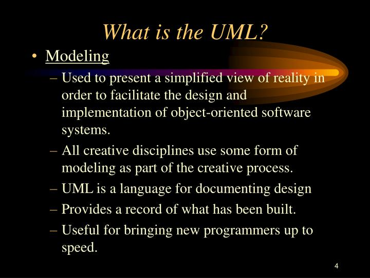 What is the UML?