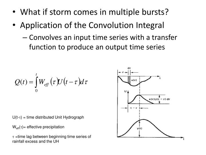 What if storm comes in multiple bursts?