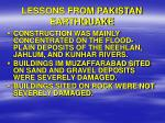 lessons from pakistan earthquake10