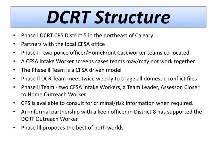 DCRT Structure