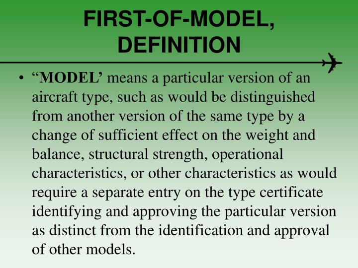 FIRST-OF-MODEL,