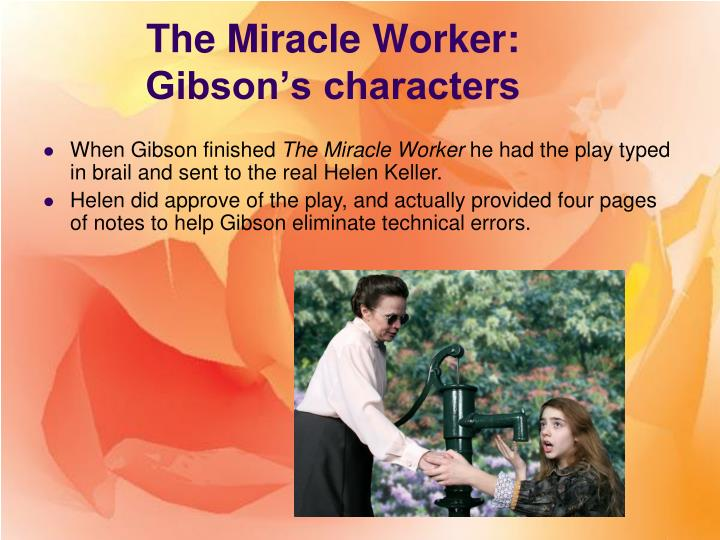 the miracle worker conflict essay
