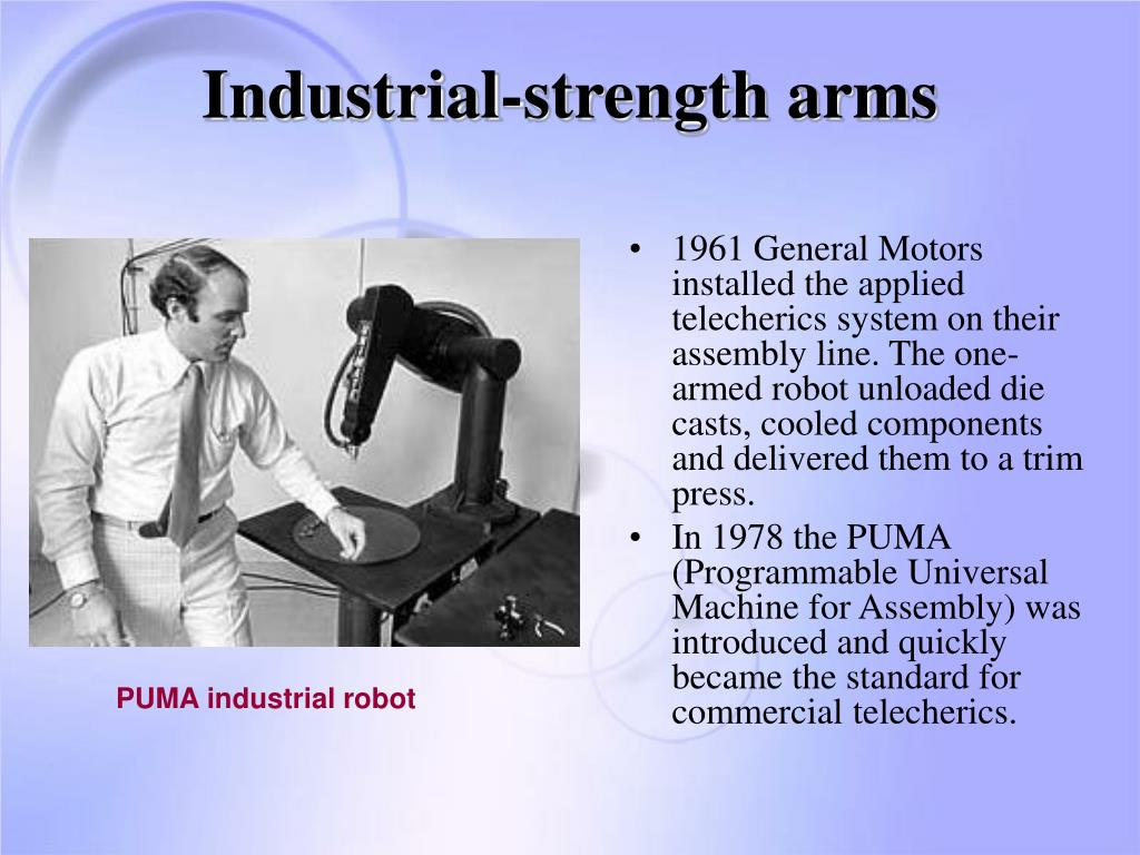 Industrial-strength arms