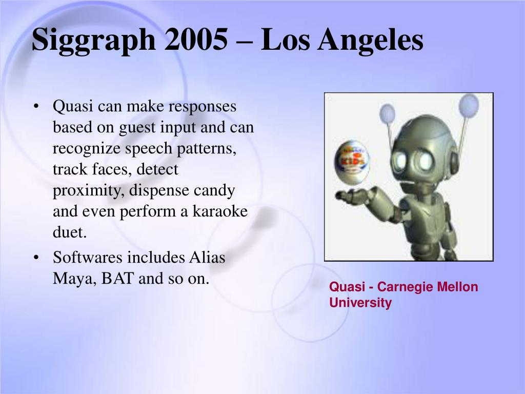 Siggraph 2005 – Los Angeles