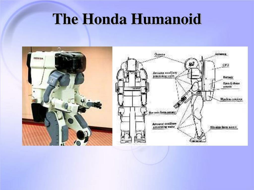 The Honda Humanoid