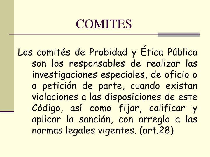 COMITES