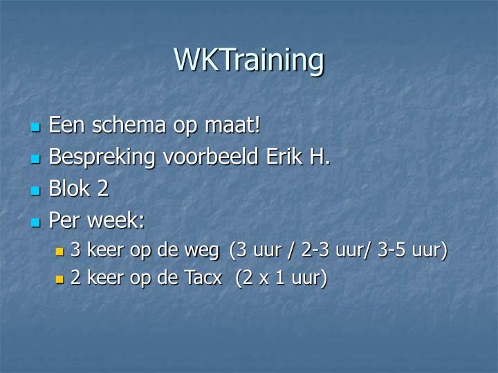 WKTraining
