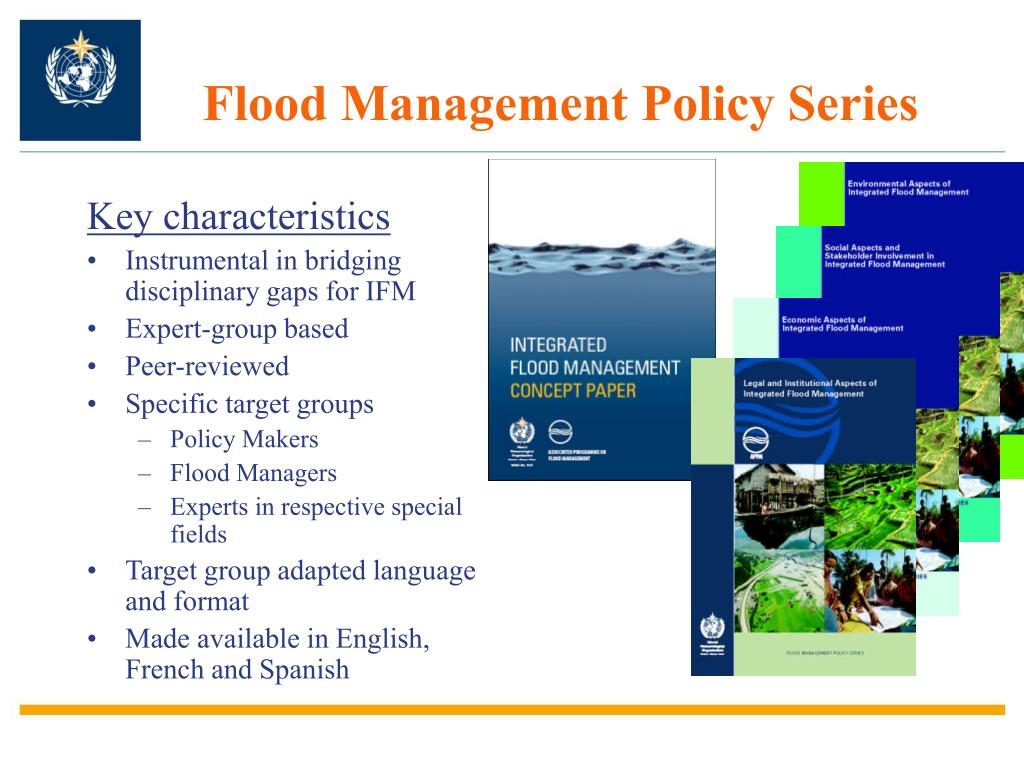 Flood Management Policy Series