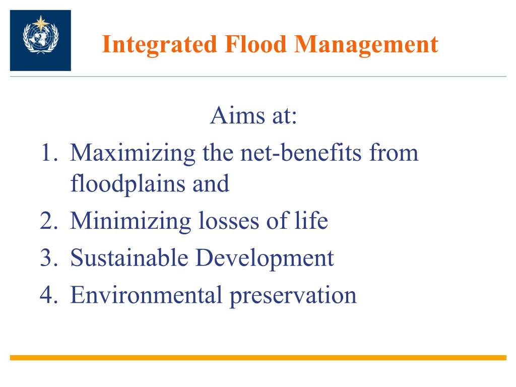 Integrated Flood Management