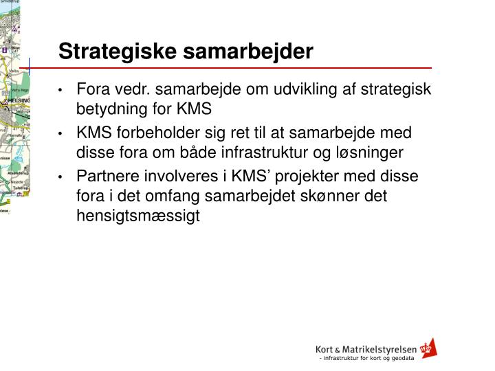 Strategiske samarbejder
