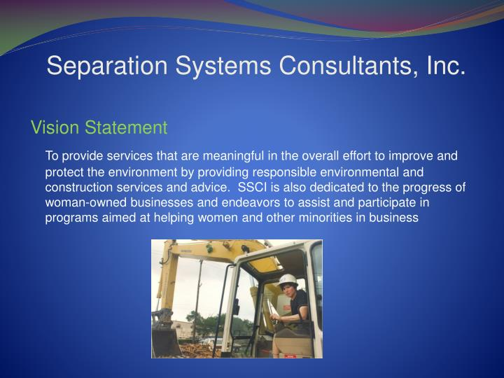 Separation systems consultants inc1