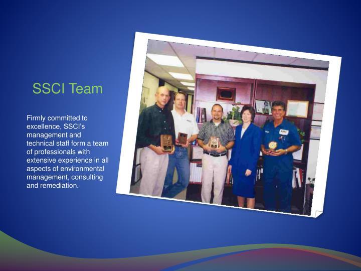 SSCI Team