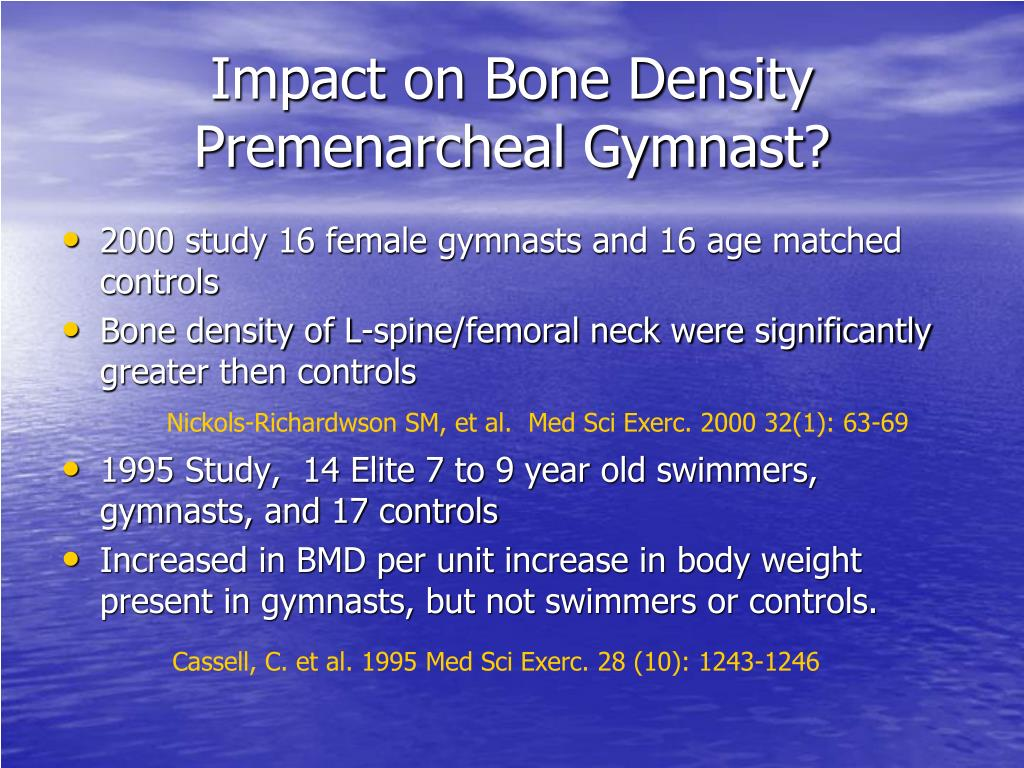 Impact on Bone Density