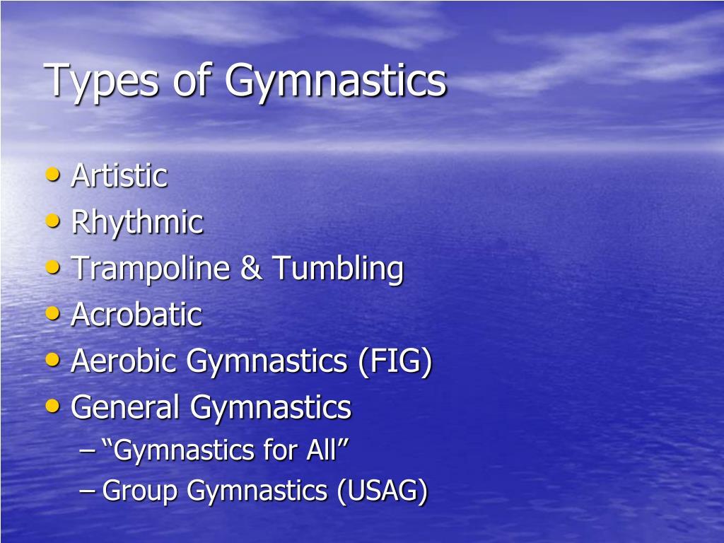 Types of Gymnastics