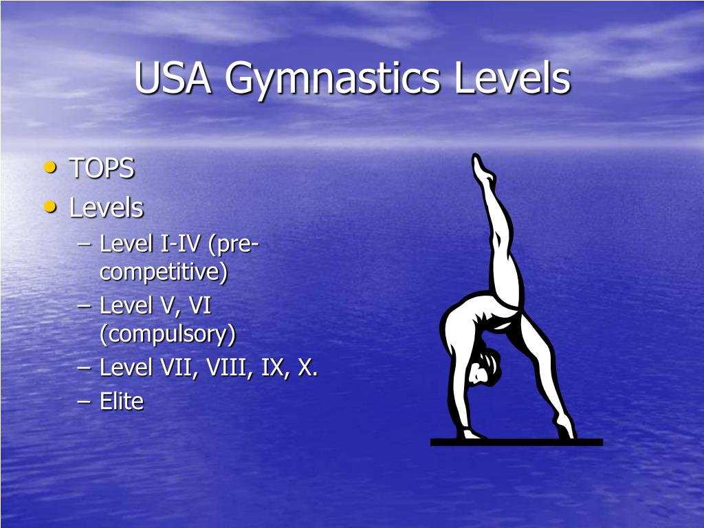 USA Gymnastics Levels