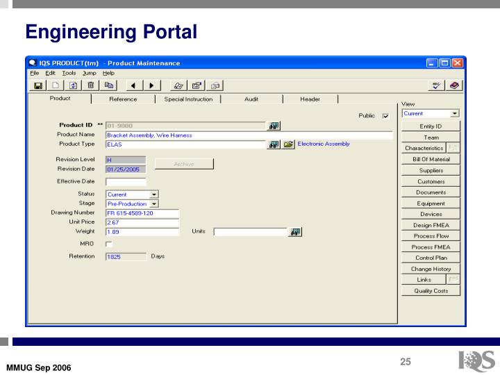 Engineering Portal