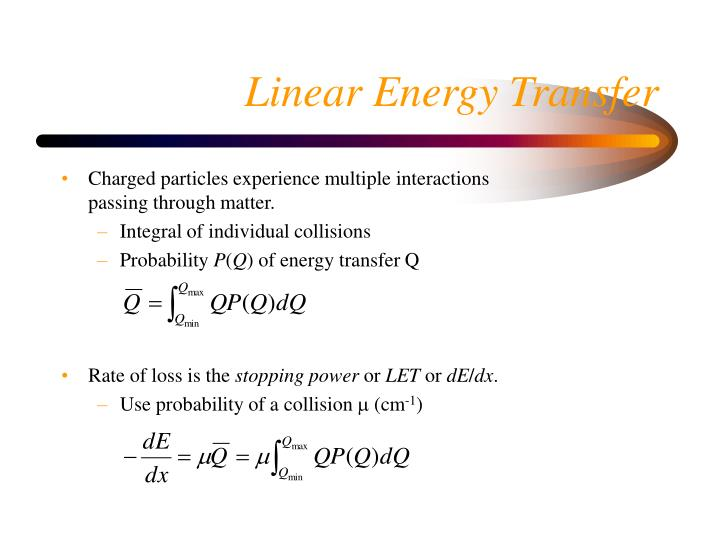 Charged particles experience multiple interactions passing through matter.
