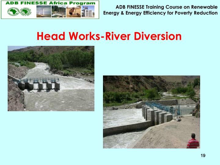 Head Works-River Diversion