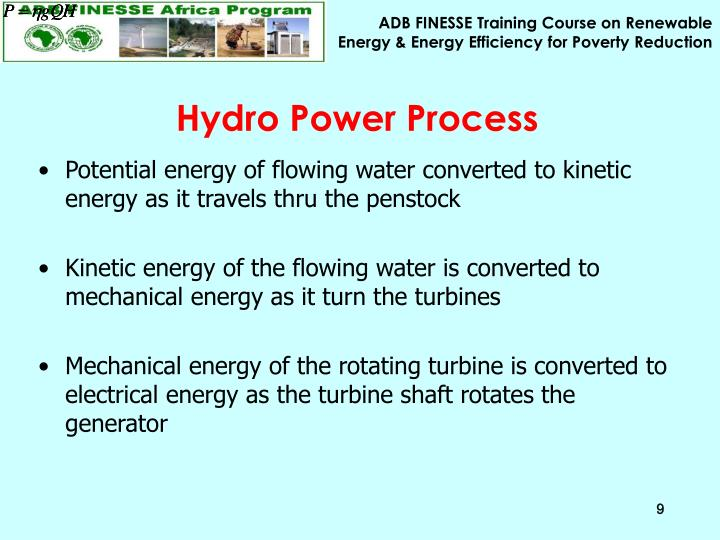 Hydro Power Process