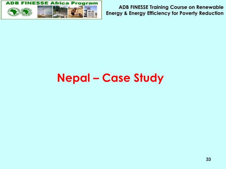 Nepal – Case Study
