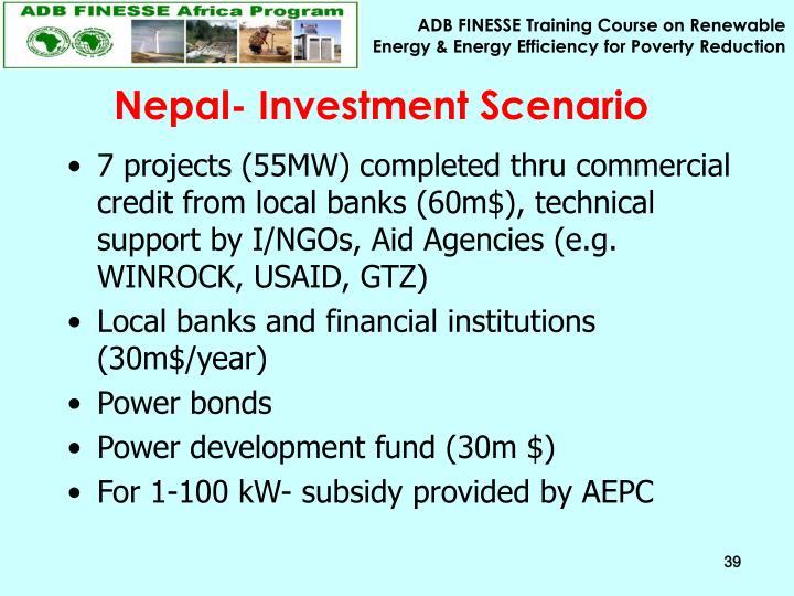Nepal- Investment Scenario