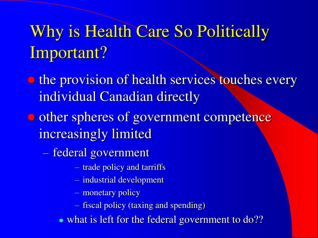 Why is Health Care So Politically Important?
