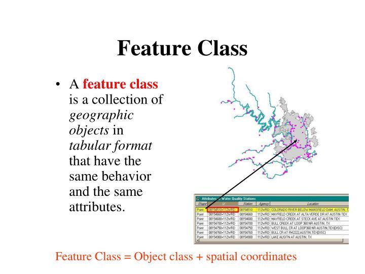 Feature Class