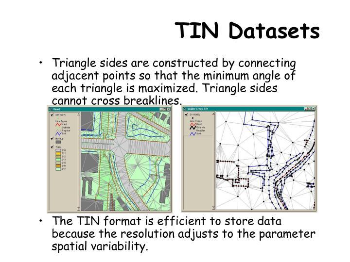 TIN Datasets