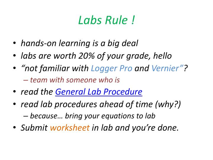 Labs Rule !
