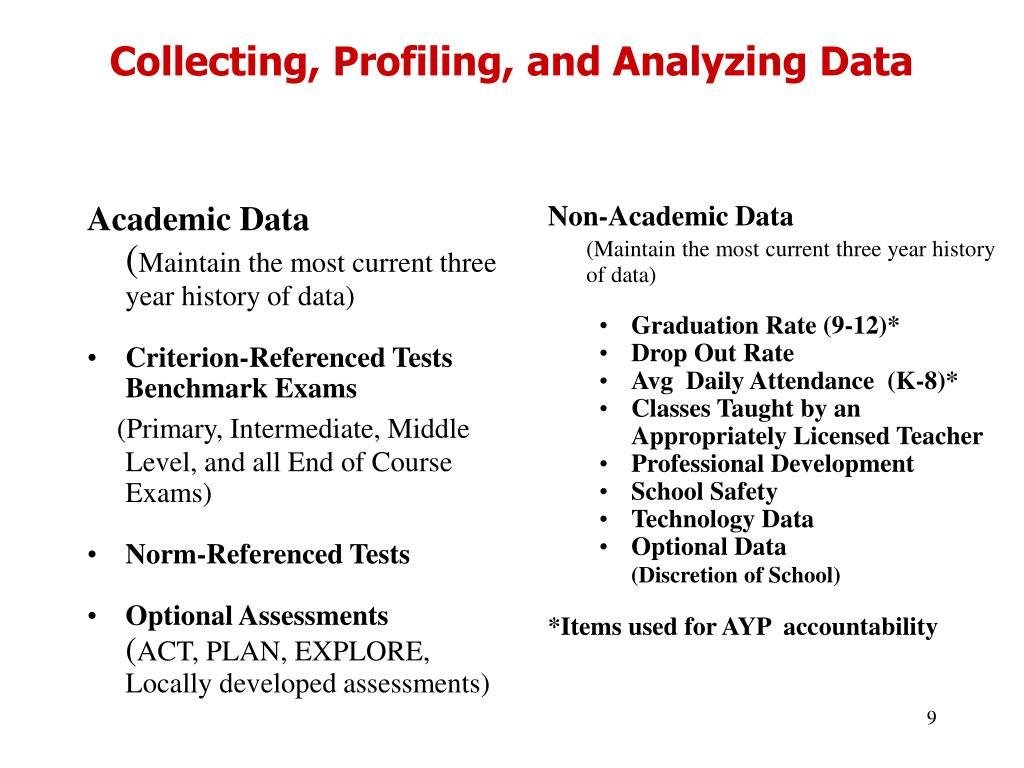 Academic Data