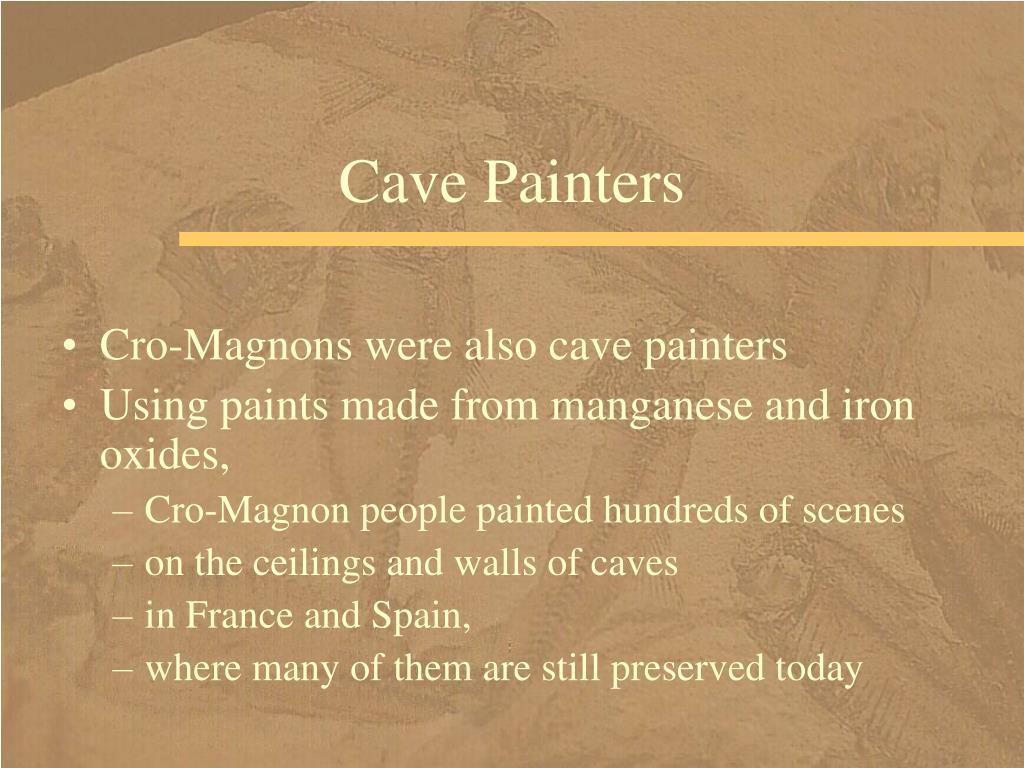 Cave Painters