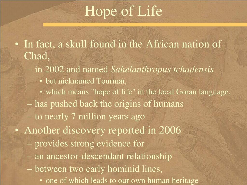 Hope of Life