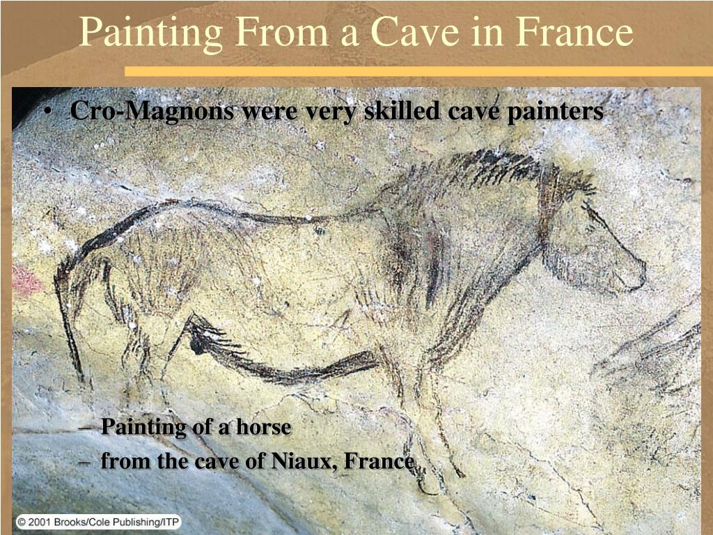 Painting From a Cave in France