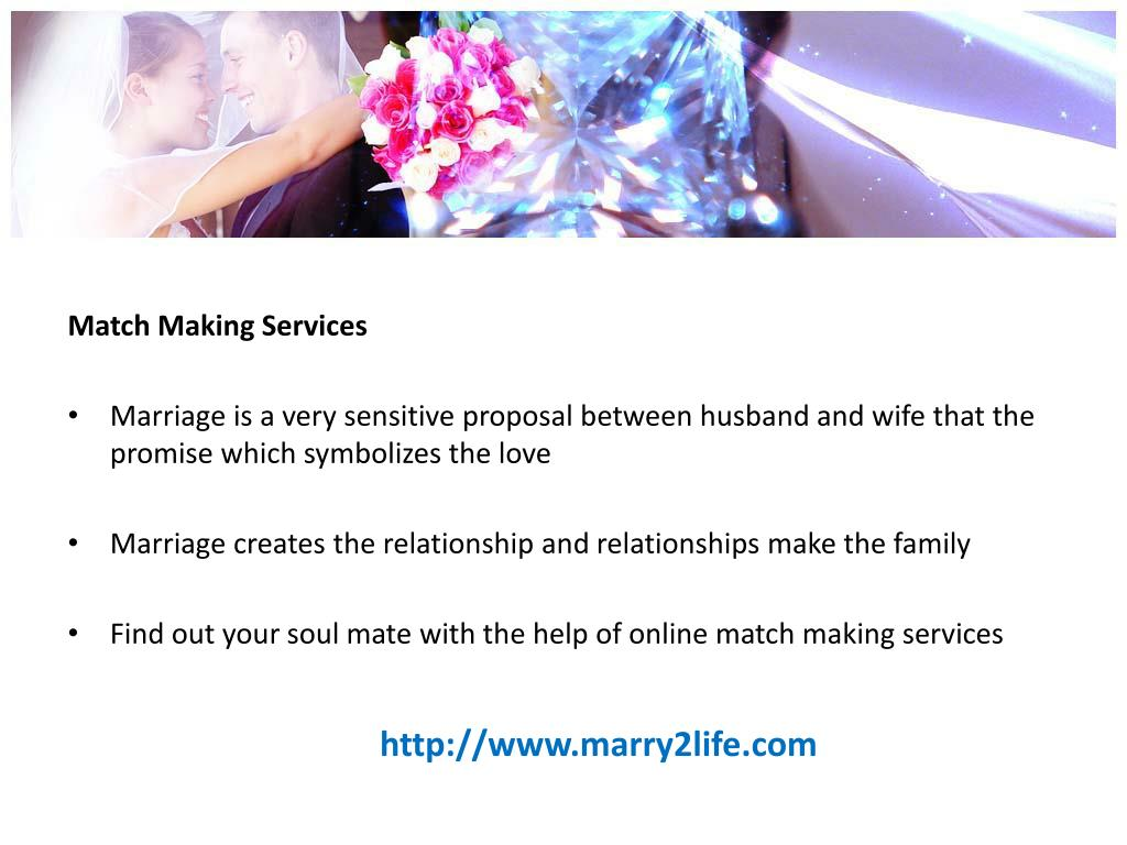 Match Making Services