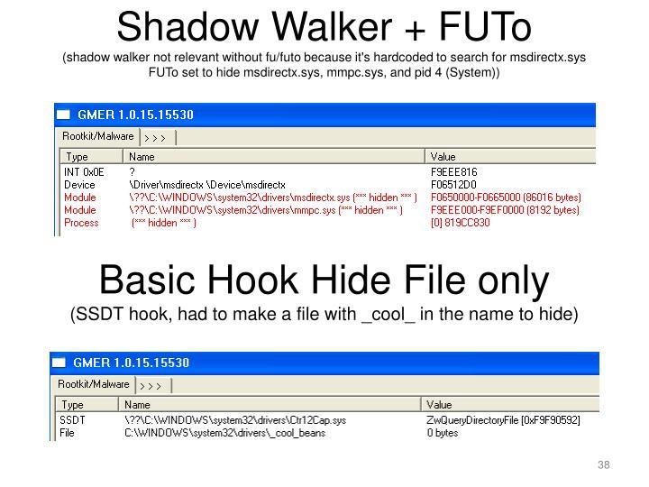 Shadow Walker + FUTo
