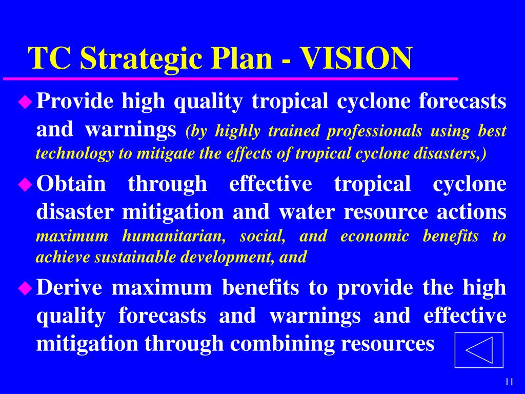 TC Strategic Plan - VISION