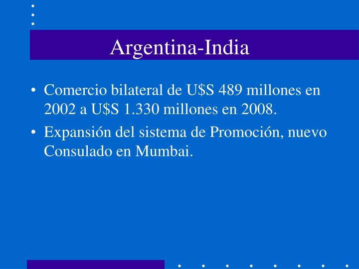 Argentina-India