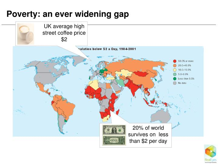 Poverty: an ever widening gap