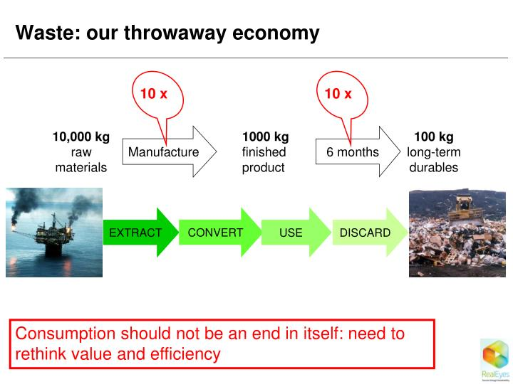 Waste: our throwaway economy