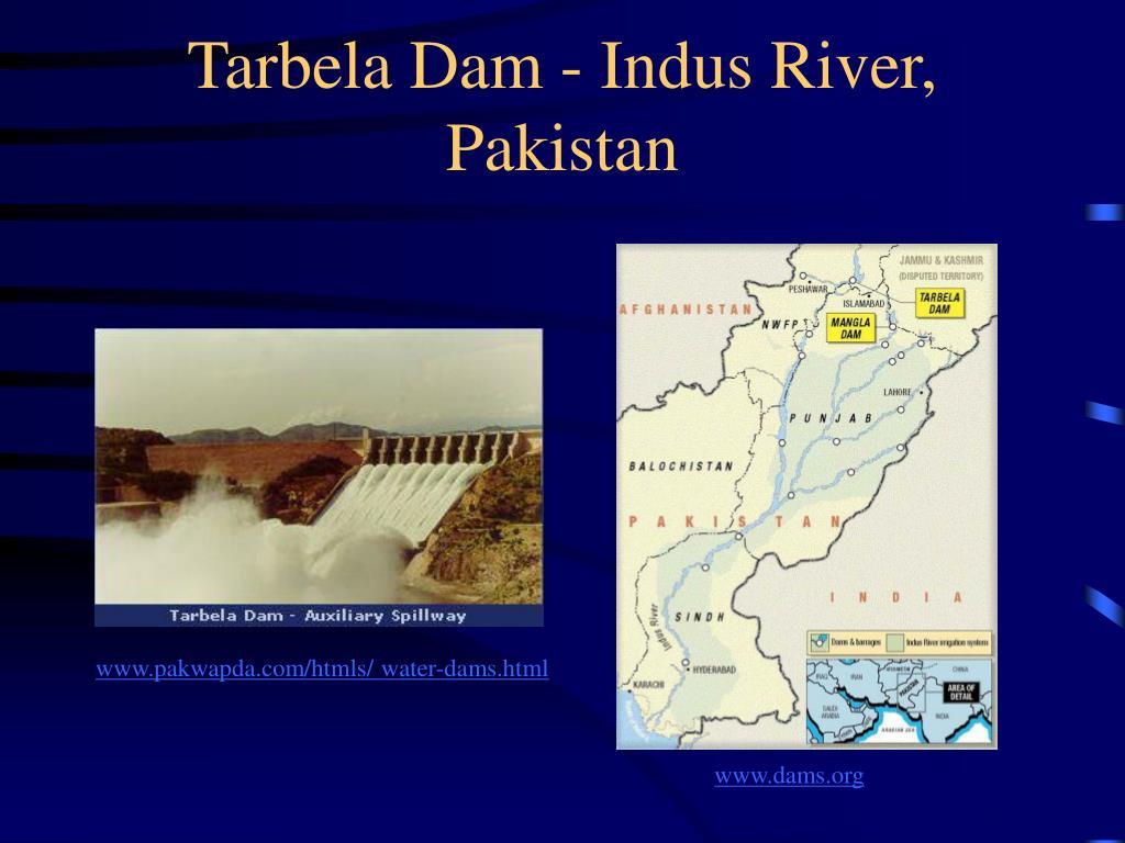 Tarbela Dam - Indus River, Pakistan