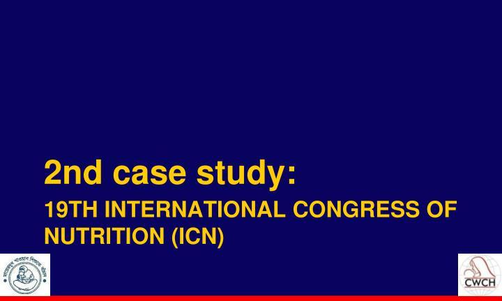 2nd case study: