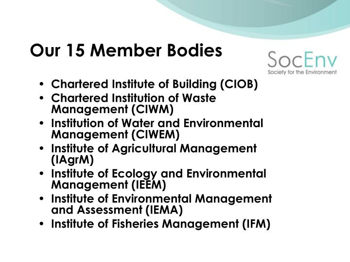 Chartered Institute of Building (CIOB)