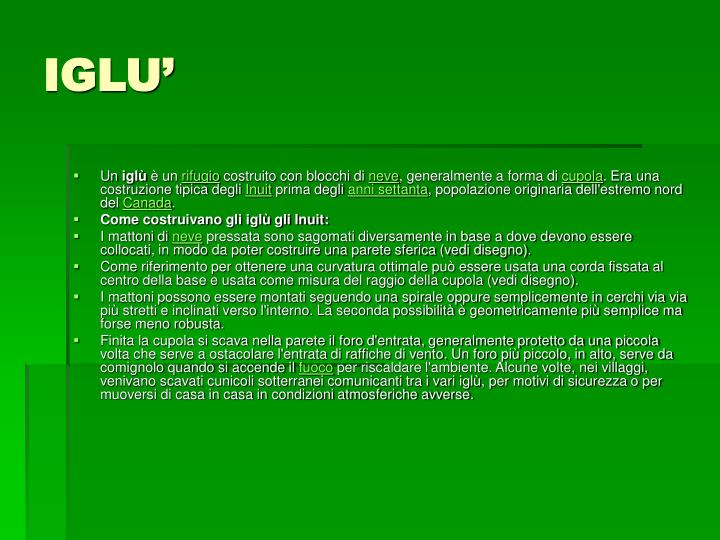 IGLU'