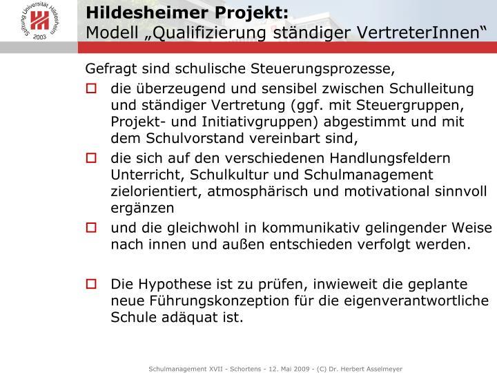 Hildesheimer Projekt:
