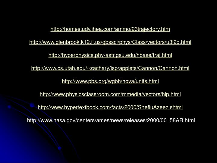 http://homestudy.ihea.com/ammo/23trajectory.htm