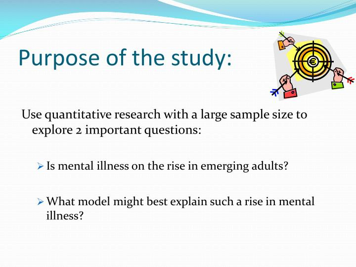 Purpose of the study:
