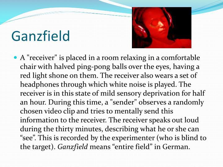 Ganzfield